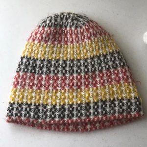Accessories - Primary color beanie knit